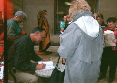 Joe p. Lowry Booksigning